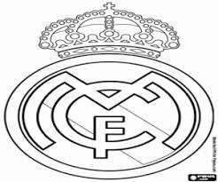 Kleurplaat Real Madrid Cf Badge Kleurplaten