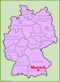 munich maps  germany  maps of munich (münchen)