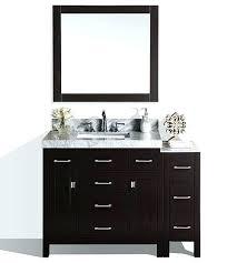 modern bathroom vanity ideas. Modern Bathroom Vanities Vanity Espresso Single With Side Cabinet And White Marble . Ideas O