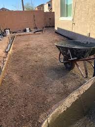 concrete patio installation las vegas