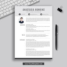 2019 2020 Pre Formatted Resume Template With Resume Icons Fonts And Editing Guide Unlimited Digital Instant Download Resume Template Fully