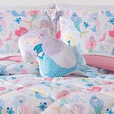 laura hart kids kids mermaids shaped pillow