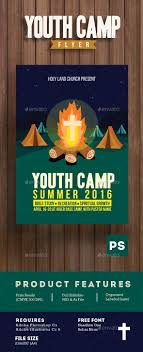 youth camp church flyer template flyer template church and camps youth camp church flyer template