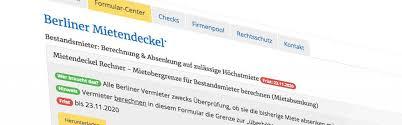"""Das gesetz sei """"insgesamt nichtig. Vermieter Im Blick Hev Berlin Hauseigentumer Vermieterverein E V"""