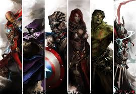 Resultado de imagen de The Vengeance The World's Greatest Heroes for DnD 5E