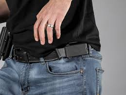 Magazine Belt Holder Carrying A FullSize Magazine As A Backup Gun Belts Blog 15