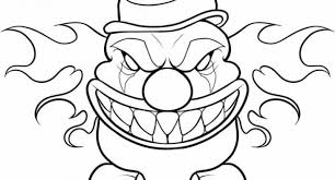 Small Picture scary clown printable coloring pages Archives Cool Coloring