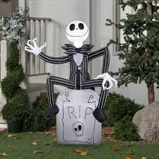 Jack Skellington Decorations Halloween Gemmy Airblown Inflatable 5 X 35 Nightmare Before Christmas