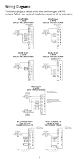 wiring diagrams cool only 3 wire single transformer heat cool 5 wiring diagrams cool only 3 wire single transformer heat cool 5 wire two transformer robertshaw 8600 user manual page 5 12