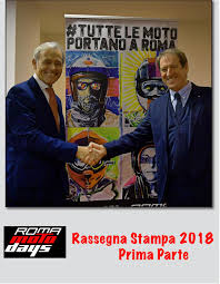 Roma Motodays 2018 - Rassegna Stampa - 1a parte by Fiammetta La Guidara  Press - issuu