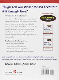 solved problems in chemistry schaum s outlines david 3 000 solved problems in chemistry schaum s outlines david goldberg 9780071755009 com books