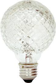 Decorative Halogen Light Bulbs Ge Lighting 16774 40g25 H Crystal Decorative Halogen Bulb