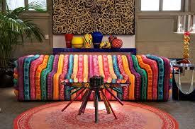 versace bubble sofa colorful