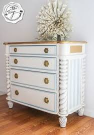painted furniture union jack autumn vignette. Chest Of Drawers W/ Spiral Columns In Antique White \u0026 Persian Blue Painted Furniture Union Jack Autumn Vignette E