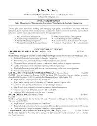 ... Resume-New Operations Manager. Jeffrey N. Davis 934 River Terrace  New  Braunfels, Texas 78130  (830 ...
