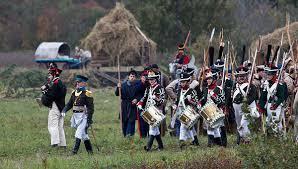 Война избранное Недооцененный противник Наполеона из  Реконструкция Вохонского сражения Отечественной войны 1812 года