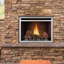 gas fireplace contemporary closed hearth wall mounted gss36cf