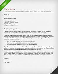 Cover Letters The Best Format Of A Cover Letter Best Format For