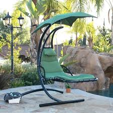 swing lounge chair hanging chaise lounge chair hammock swing canopy glider outdoor hanging lounger swing chair
