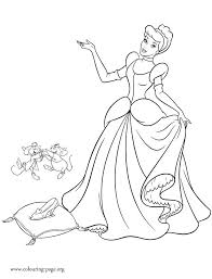 Excellent Disney Cinderella Coloring Pages Coloring Pages Disney