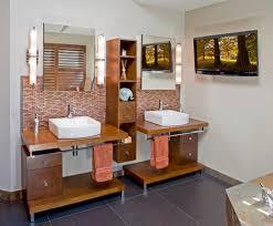 Does A Bathroom Light Need An Earth Earth Tone Bathrooms Bathroom Contemporary With Shared