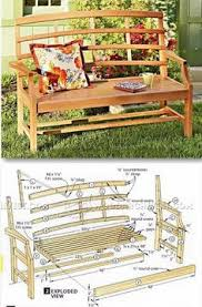 Small Picture Garden Bench Plans Outdoor Furniture Plans and Projects