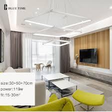 40cm 40cm 40cm Square Modern Chandelier Lighting For Living Room Cool Chandelier Size For Dining Room Minimalist