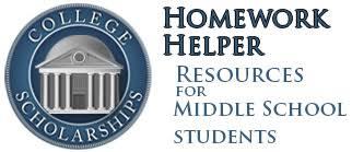 Homework Helper  for Free Online Homework Help College Scholarships middle school homework helpers