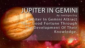 Jupiter In Gemini Birth Chart Jupiter In Gemini Sign Meaning Significance And