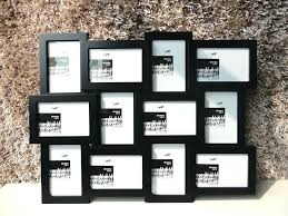 multiple picture frames. 7 Opening Picture Frame 4x6 Multiple Frames Black Home Collection Photo Multi Inch C