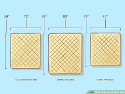 what size is a king bed how to measure bed size 10 steps with pictures wikihow