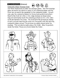 Community Helpers Chart Pdf My Book About Community Helpers Printable Mini Books