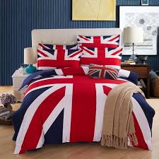 the new listing bedding british flag home textiles fashion union jack duvet cover set drap de lit 4pcs queen size comforter jpg