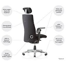 office chair back. see the benefits of hÅg tribute™ office chair back