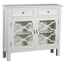 slimline console table. kaitlyn slimline console cabinet - off-white oak grove collection table l