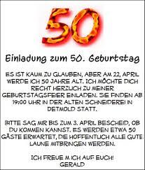 Lustige Sprüche Zum 50 Jährigen Geburtstag