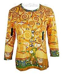 klimt tree of life art shirt klimt artgustav klimtgifts