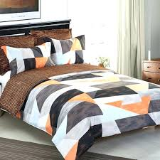 brown and cream bedding brown and teal bedding large size of orange and grey bedding sets