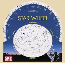 Sky Maps Star Chart How To Make A Star Wheel And Observe The Night Sky Sky