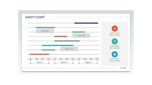 Corporate Gantt Chart Free Powerpoint Templates