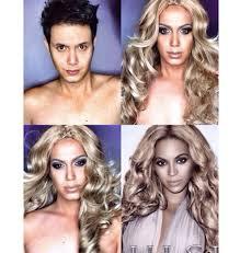 se makeup how to make a woman look like a man mugeek vidalondon beyoncé natashakudashkina