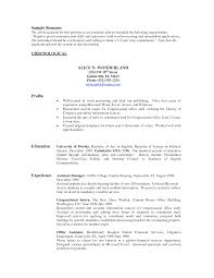 Extraordinary Political Science Resumes For Your Resume Political