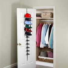 details about cap rack closet hanger system storage 36 caps organizer door baseball hat holder