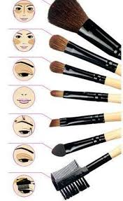 24 makeup brushes and their uses. make up brushes their uses http://www.bossnotin.com/beauty 24 makeup and