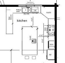 Kitchen design layout plus kitchen floor plan design ideas plus kitchen  island placement ideas plus in