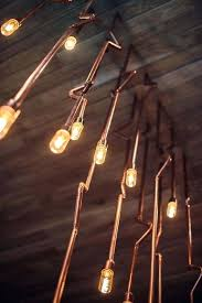 copper plumbing pipes wired for lighting oh the possibilities pipe light fixture