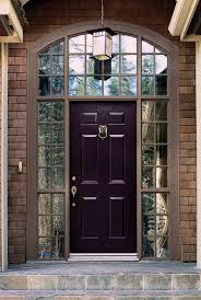 elegant front doors. Modren Elegant Elegant Dark Purple Front Door Colors Brick Wall Granite Tile Floor Doors  Entrance Doordesign For Doors W