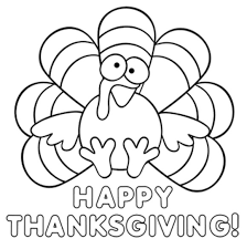Small Picture Thanksgiving coloring pages cute turkey ColoringStar