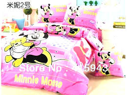 Minnie Mouse Bedroom Set Full Size Twin Bed Bedding R Y Comforter ...