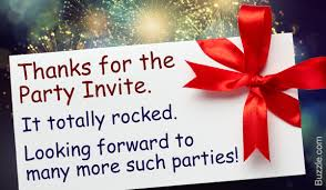 make your guests happy with purely unique party thank you notes